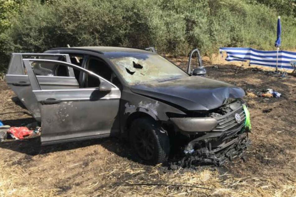 Das ist nicht das erste Auto, welches in Flammen stand.