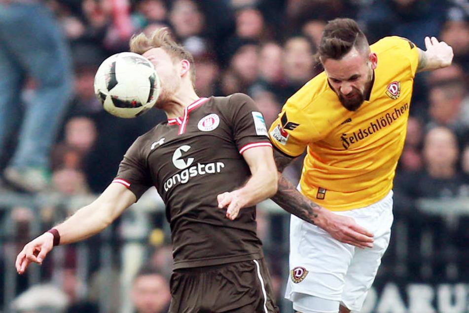 Auf St. Pauli erwischten die Dynamos kollektiv keinen guten Tag.