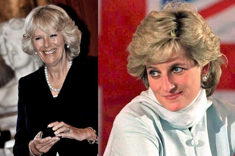 Lady Di hatte keine hohe Meinung von Camilla Parker Bowles (li.).