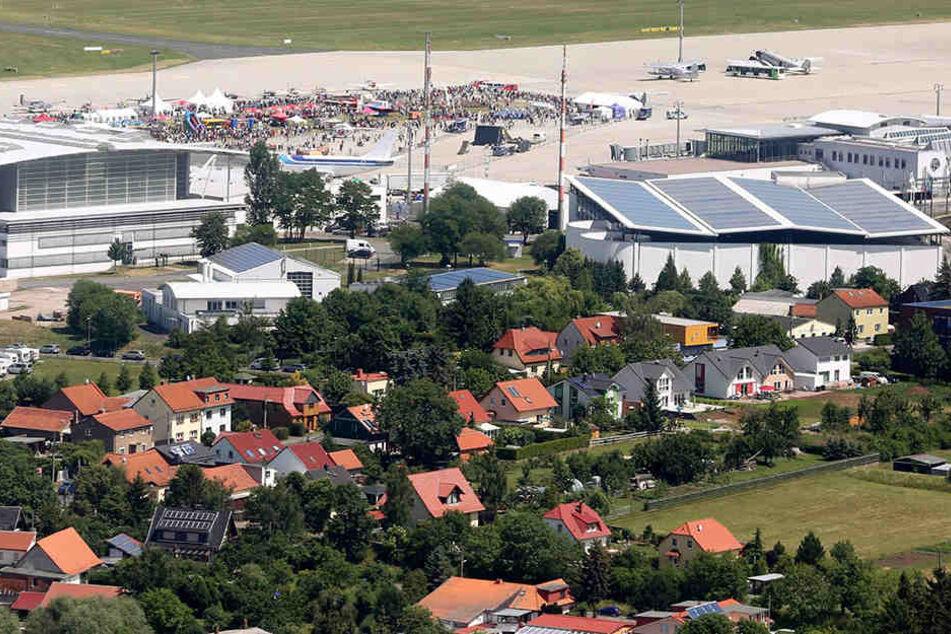 Flughafen Erfurt-Weimar.
