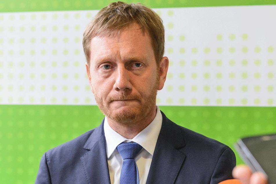 CDU-Landeschef Michael Kretschmer (43).
