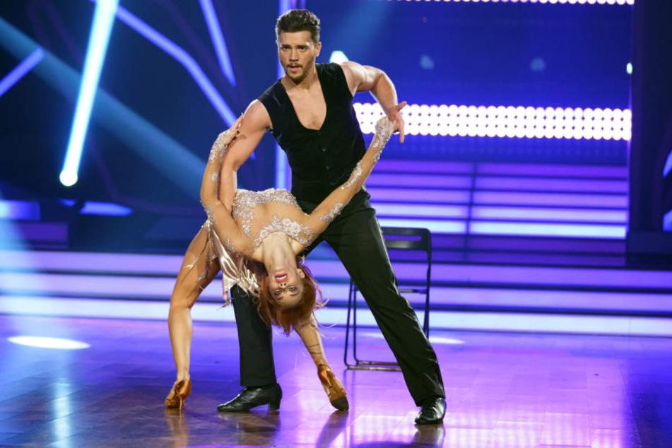 """Bei """"Let´s Dance"""" tanzte sich Oana in die Herzen der Zuschauer."""