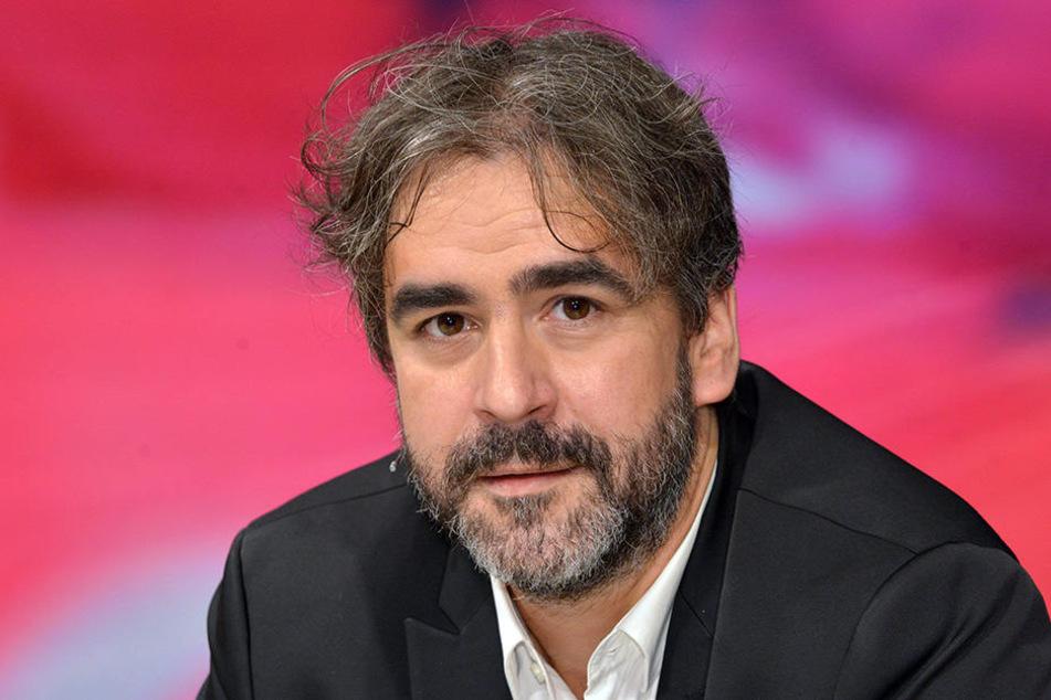 """Deniz Yücel zu Gast in der ZDF-Talkshow """"Maybrit Illner""""."""