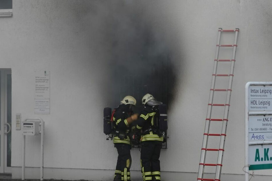 Die Ursache für den Brand ist aktuell noch unklar.