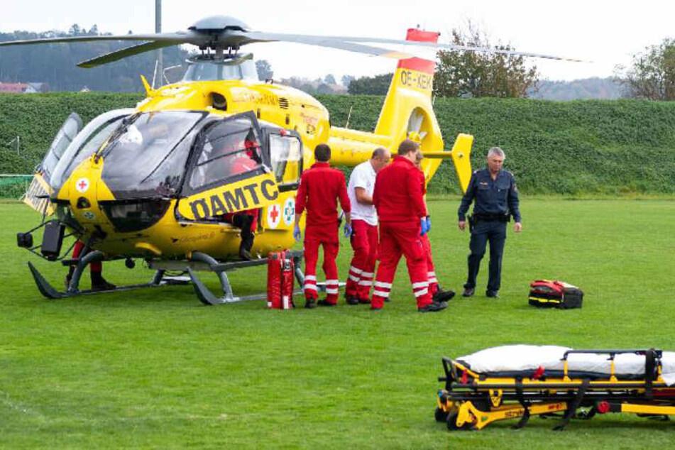 Die Rettungskräfte waren mit einem Großaufgebot vor Ort im Einsatz.