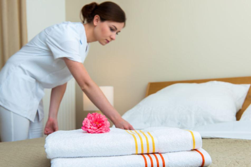 Was manche Zimmermädchen in den Räumen der Gäste finden, ist wirklich verstörend (Symbolbild).