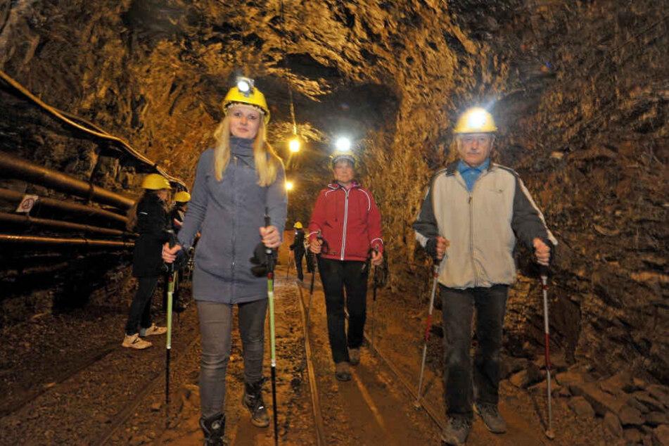 Kurios: Bergwerke sind gefragter denn je bei Sachsen-Touristen. Zugleich  verliert gerade das Erzgebirge Besucher.