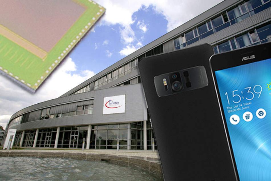 Dresdner Super-Chip macht dünnstes Smartphone der Welt zum Mega-Scanner