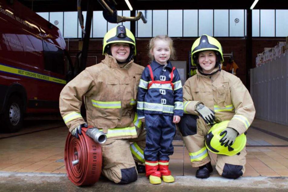 Bei der Londoner Feuerwehr arbeiten derzeit 354 weibliche Einsatzkräfte.