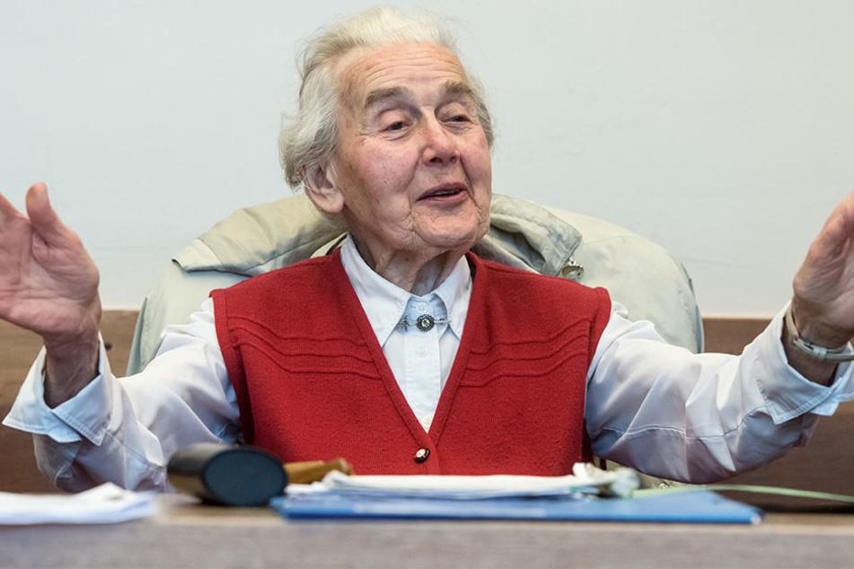 Ursula Haverbeck (89) ist eine notorische Holocaust-Leugnerin.