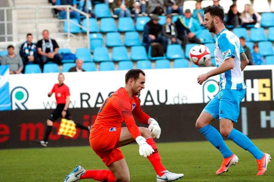 Dejan Bozic kam im vergangenen Jahr von der TuS Koblenz und schlug beim CFC prächtig ein. 19 Tore hat er erzielt - Platz zwei in der Liste der Torjäger.