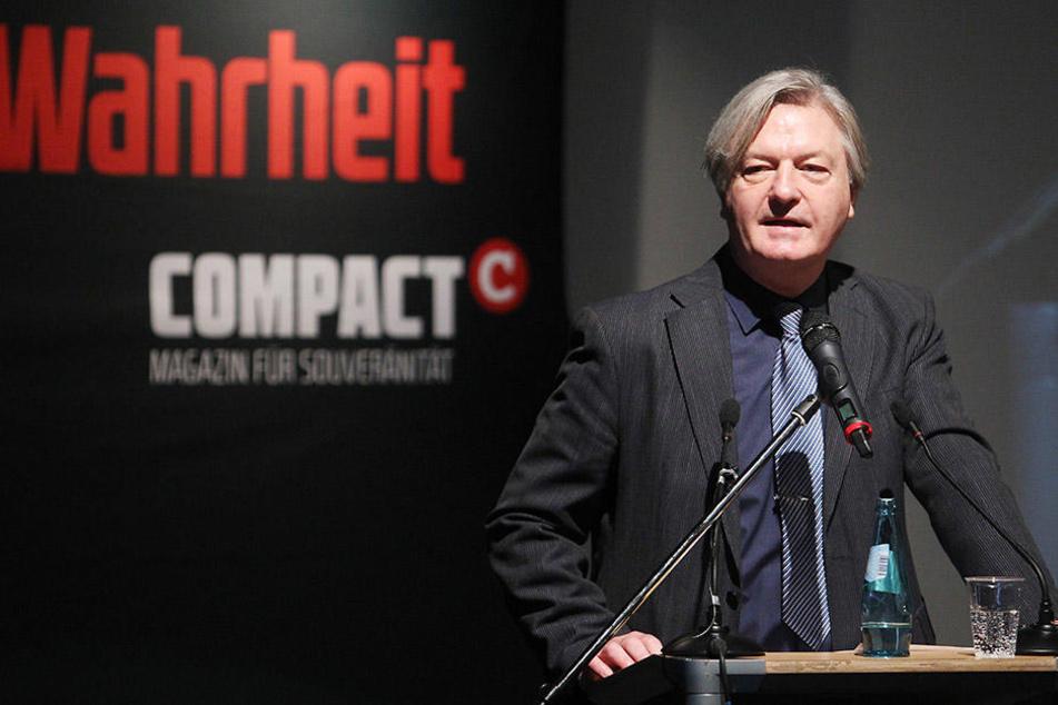Jürgen Elsässer (60) hat die AfD-Parteiführung zum Nachhilfe-Seminar nach Goslar eingeladen.