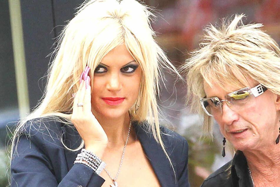 Sophia Wollersheim mit ihrem Ex-Mann Bert.