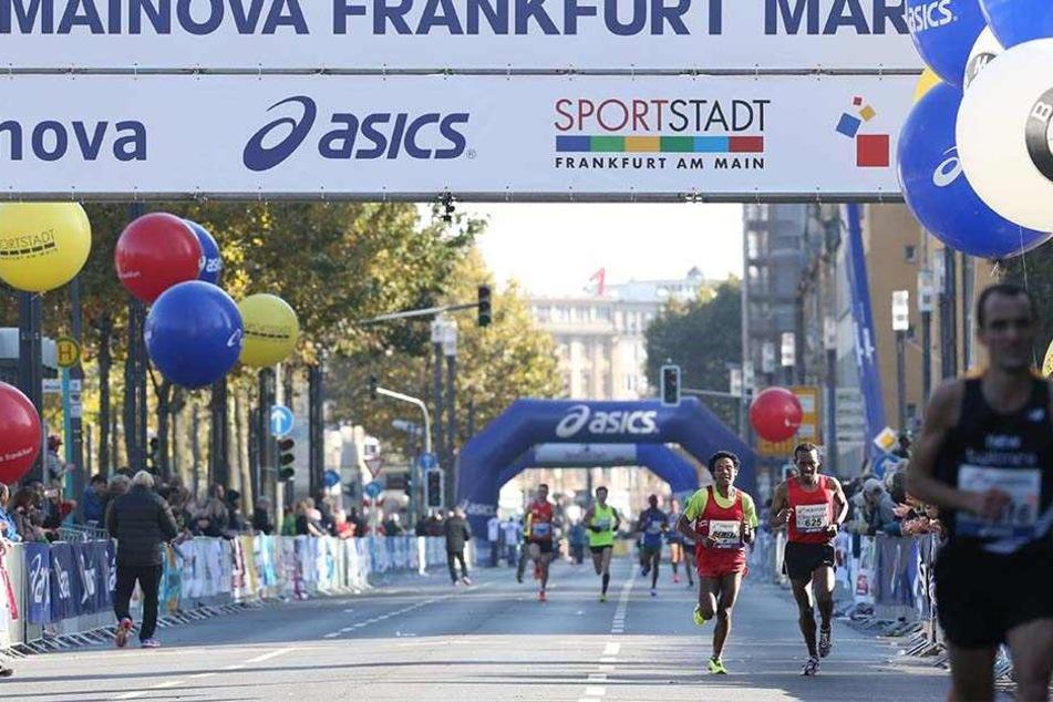 Ein Läufer verstarb beim Frankfurt-Marathon.