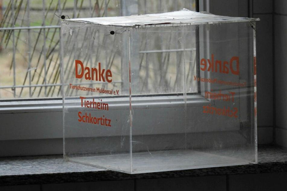 Eine geplünderte Spendenbox - insgesamt erbeuteten die Täter diesmal zwischen 7000 und 8000 Euro.
