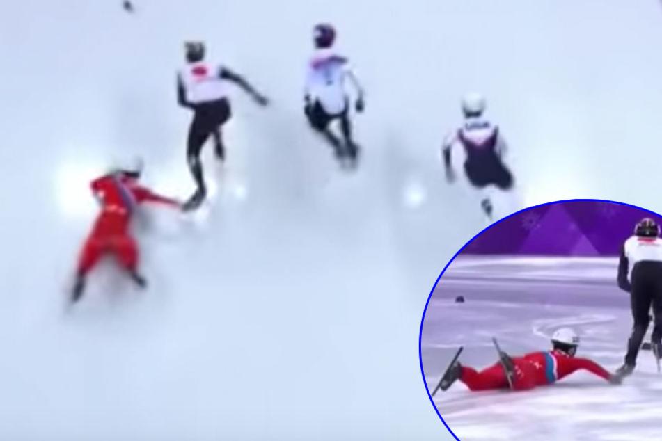 Skandal beim Shorttrack: Ist das die unfairste Aktion der Olympischen Spiele?