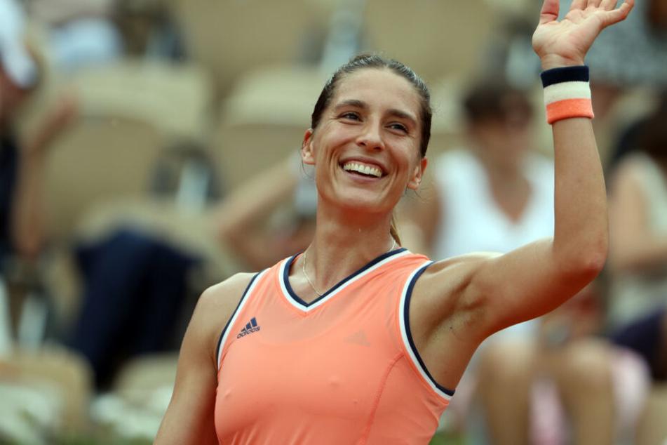 Sensation! Tennis-Star Andrea Petkovic spielt jetzt für Dresden