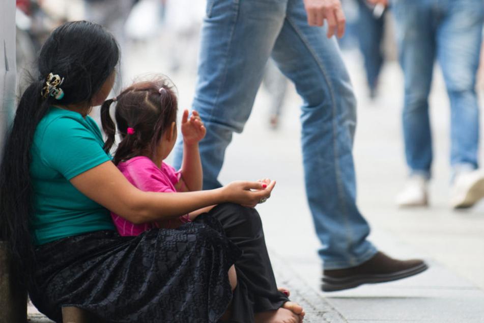 Bald soll das Kinderbetteln auf Dresdens Straßen verboten werden.