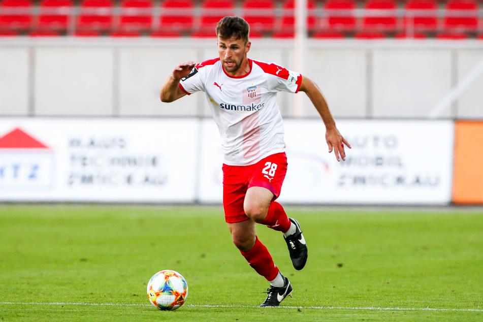 FSV-Mittelfeldspieler Nils Miatke erwartet auch für das Heimspiel gegen Verl ein aggressives Spielverhalten und eine gute Zweikampfführung seiner Mannschaft.