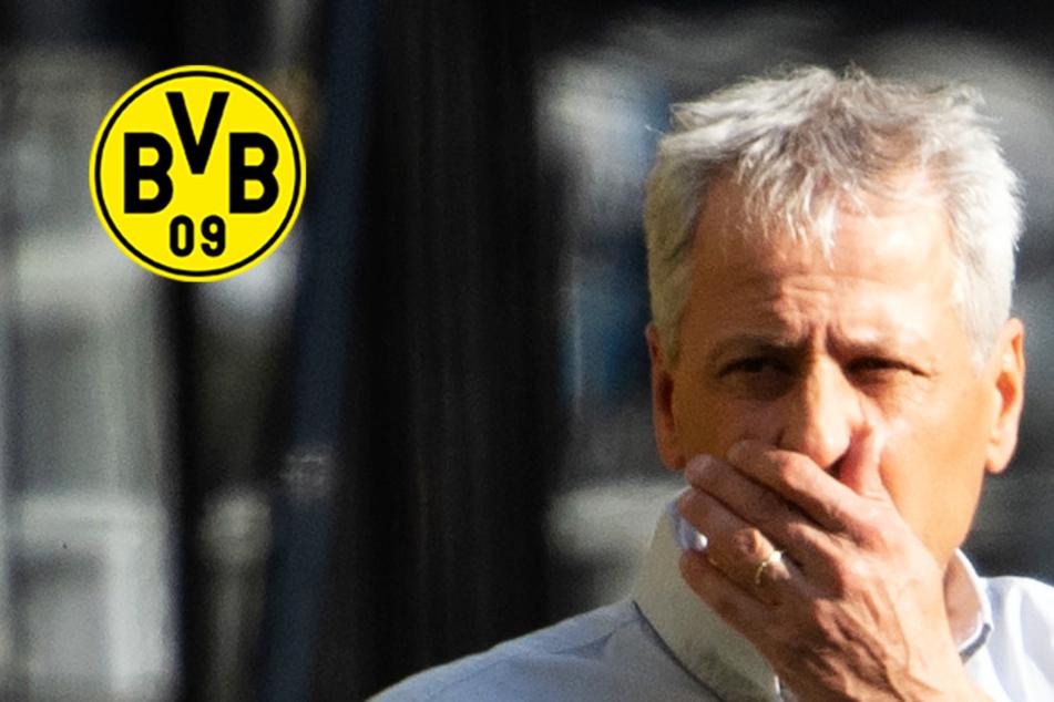 BVB-Coach Lucien Favre rudert nach Aussage im Anschluss an Dortmunder Pleite gegen Bayern zurück!