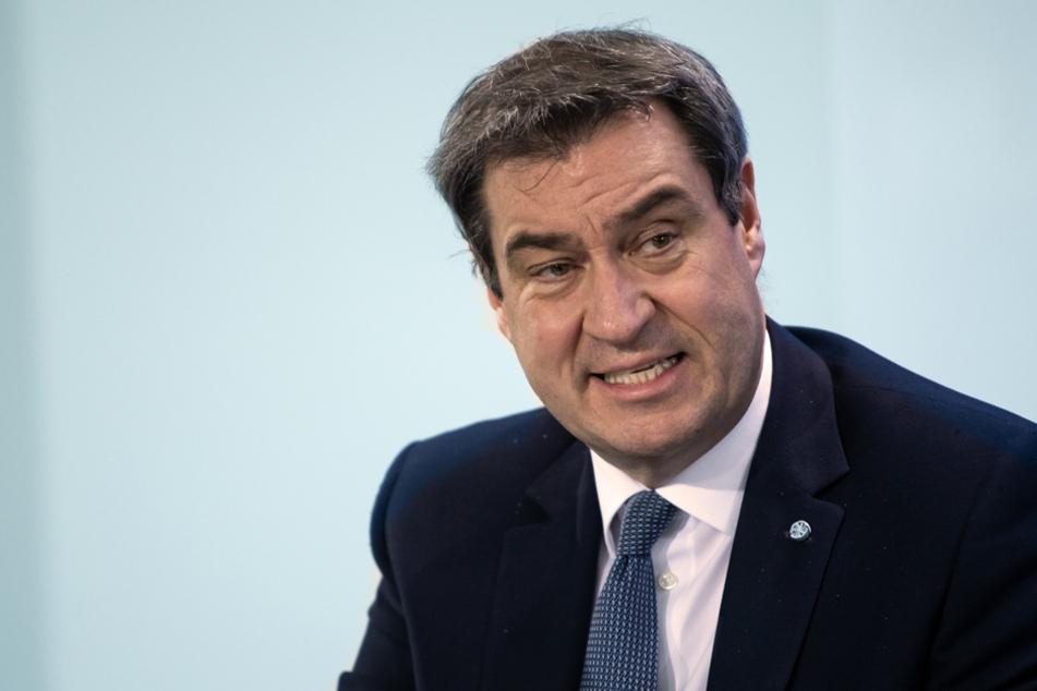 Bayerns Ministerpräsident Markus Söder (54, CSU)