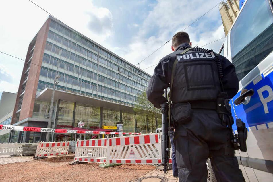 Gegen das Chemnitzer Finanzamt hatte es mehrere Drohungen gegeben.