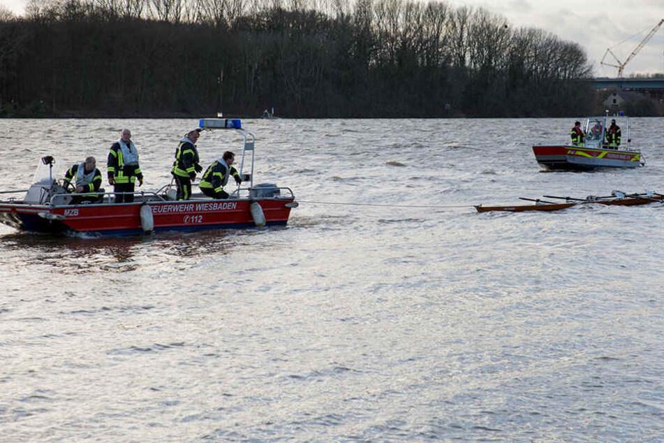 Auf dem Kalksee ist am Samstag ein Ruderboot gekentert. (Symbolbild)