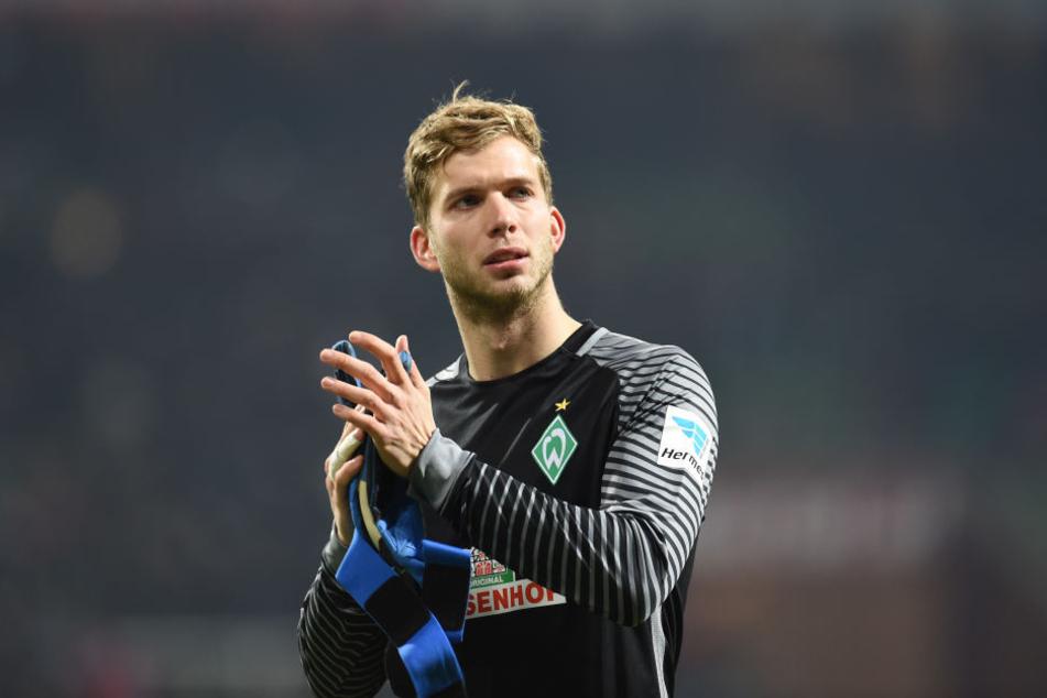 Felix Wiedwald (28) komplettiert das Torwart-Team der Eintracht.