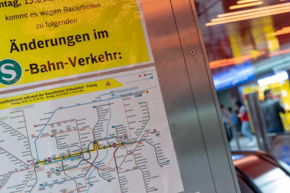 Stammstrecke wird gesperrt: Das ändert sich im Münchner Fahrplan