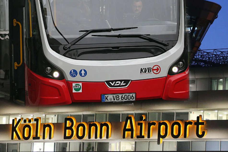 Stadt Köln plant neue Busverbindung zum Flughafen
