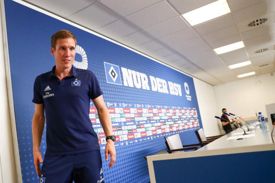 Hannes Wolf hatte zuvor den HSV trainiert und hatte es nicht geschafft, den Verein zurück in die Bundesliga zu führen.