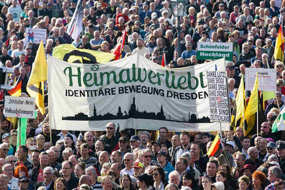 BfV: Identitäre Bewegung ist rechtsextremistisch