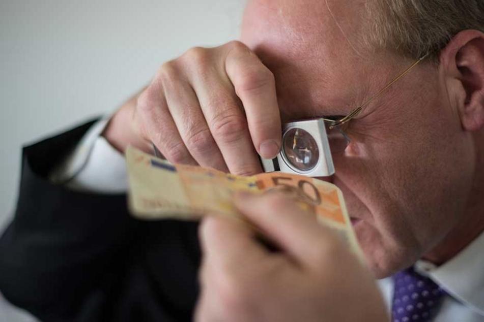 Hunderttausende Euro Falschgeld überschwemmen die Stadt