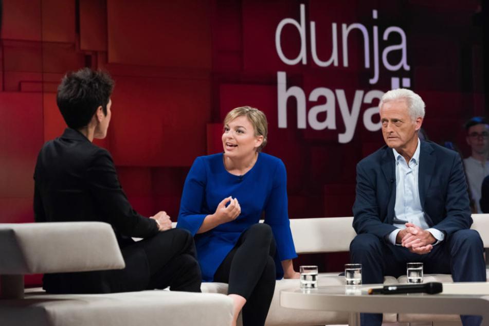 Dunja Hayali, Katharina Schulze und Dr. Peter Ramsauer.