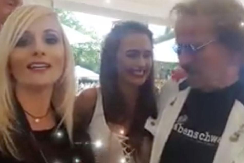 Wendler ist nicht der Erste: Kurioses Video mit seiner Laura und Kult-Röhre Frank Zander aufgetaucht