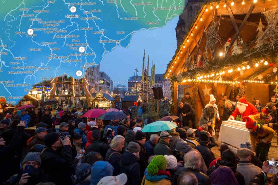 Trocken oder nass? So wird das Wetter zur Weihnachtsmarkt-Eröffnung