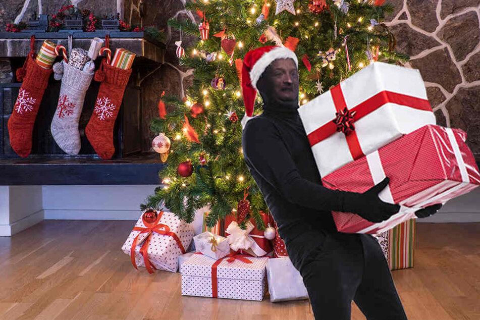 Damit an Weihnachten niemand mit Euren Geschenken abhaut, hat die Polizei ein paar Tipps.