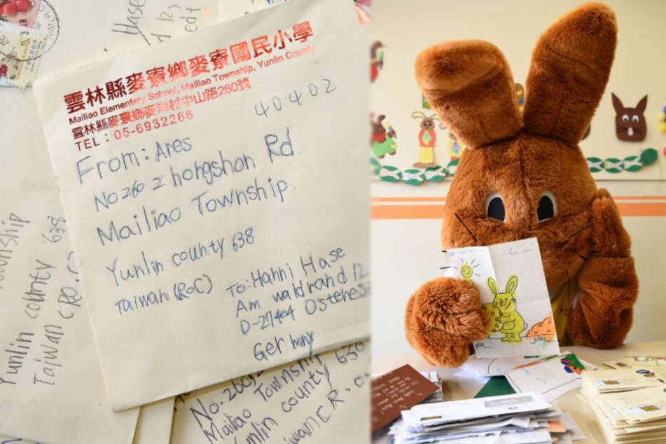 Kinder aus aller Welt schicken mehr als 40.000 Briefe an den Osterhasen