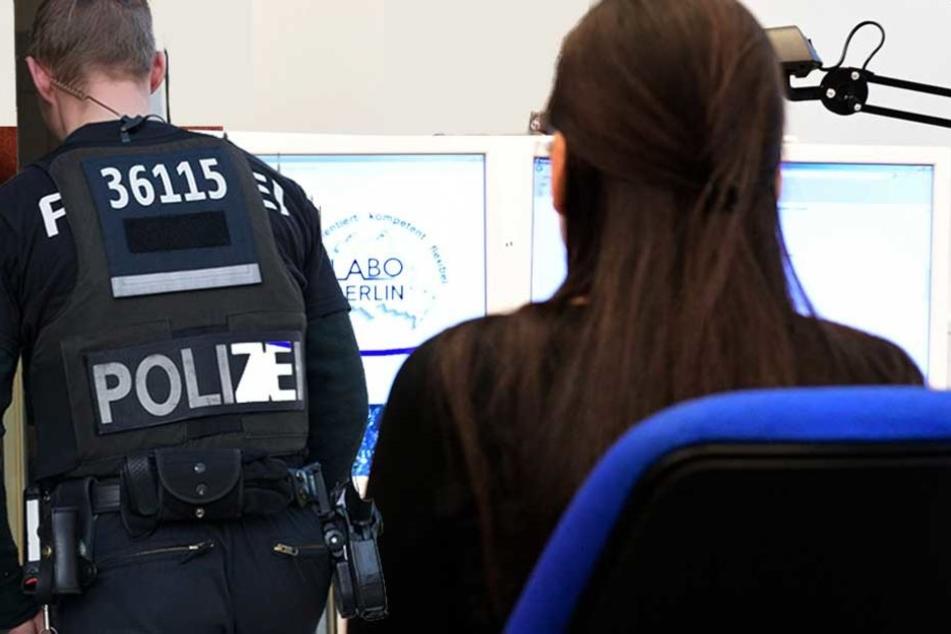 Frau in Ausländer-Behörde mit abgebrochener Flasche angegriffen