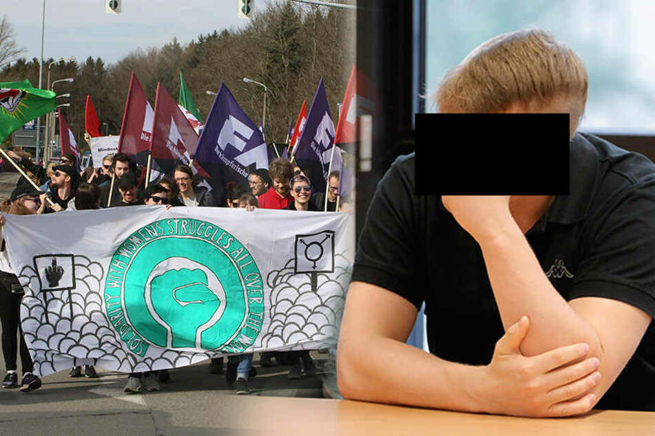 Ausschreitungen nach Demo vorm Frauenknast: Mob ging auf Polizei los