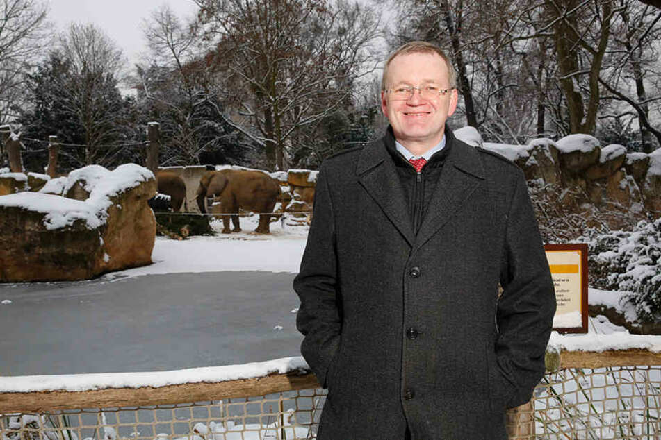 Statt OB Dirk Hilbert war am Montag Dresdens erster Bürgermeister Detlef Sittel zum Festmahl geladen.