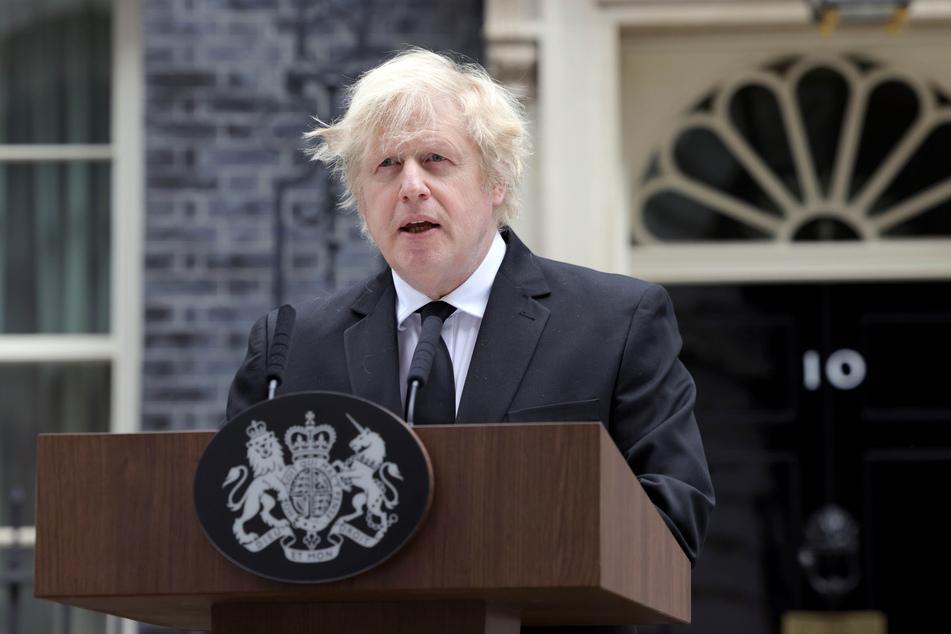 Boris Johnson (56), Premierminister von Großbritannien.