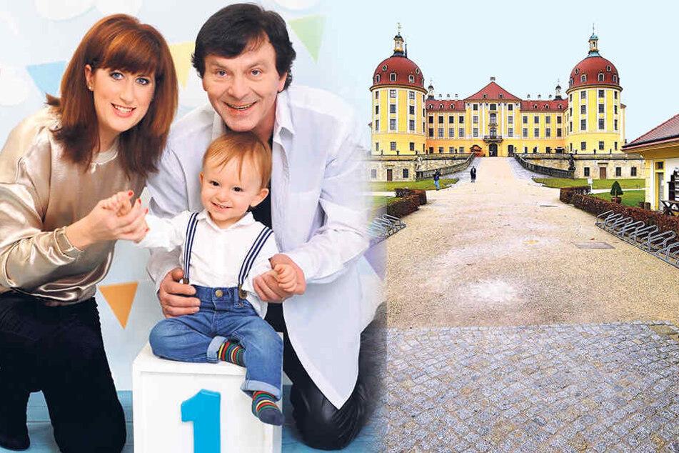 Der Prinz kommt mit seiner Frau Monika (31) und Sohn Maximilian (1) nach Sachsen. Am Freitag besucht Pavel Travnicek (67) Moritzburg.