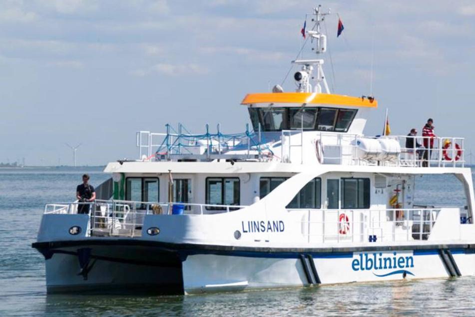 """Die """"Liinsand"""" hat einen Hybrid-Antrieb und ist damit umweltfreundlicher als andere Fähren."""