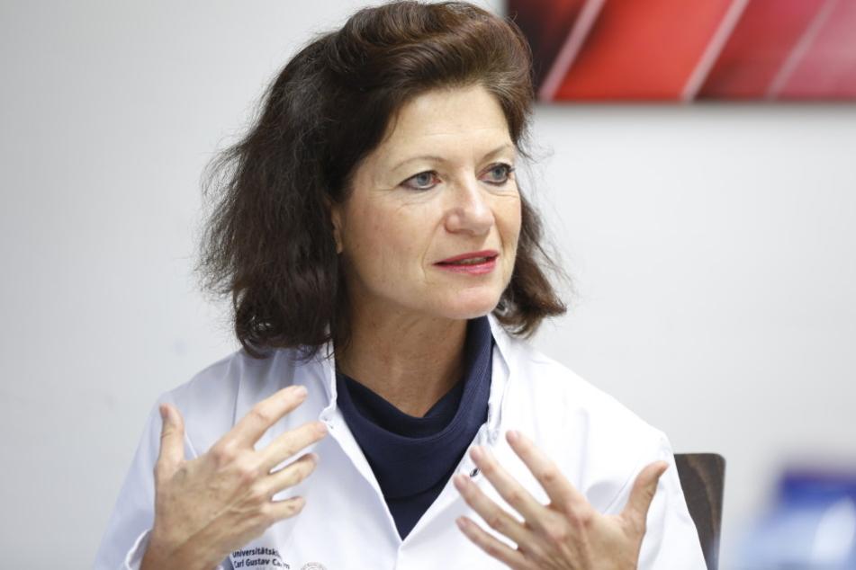 Will mit dem neuen Frühwarnsystem Sterbefälle nach Operationen an der Uniklinik  verringern: Prof. Thea Koch (54), Direktorin der Anästhesiologie und  Intensivtherapie.
