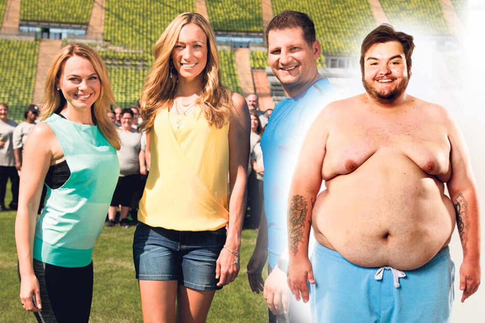 Biggest Loser: Dieser 177-Kilo-Sachse will im TV abspecken