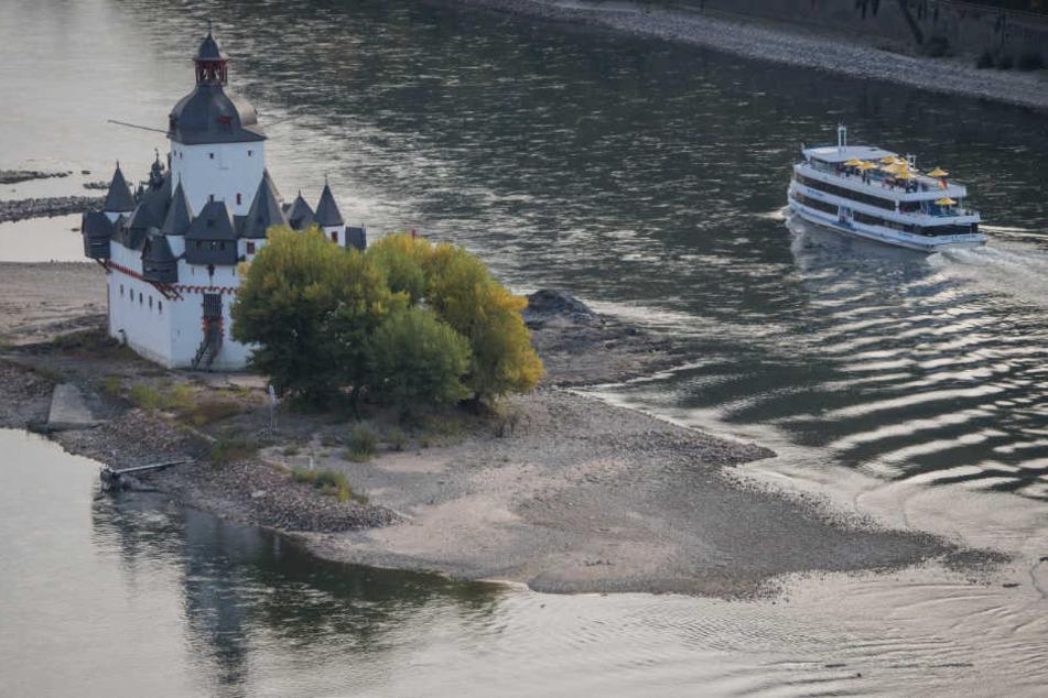 Trockenheit, Flüsse zu niedrig: Jetzt erwischt's die Fluss-Kreuzfahrten!
