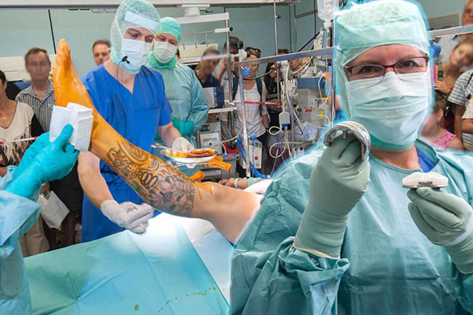 OP-Gucken zum Jubiläum: Klinik feiert Geburtstag