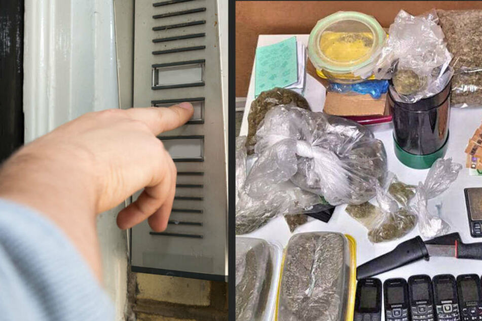 Polizei durchsucht Drogenwohnung, dann klingelt es an der Tür