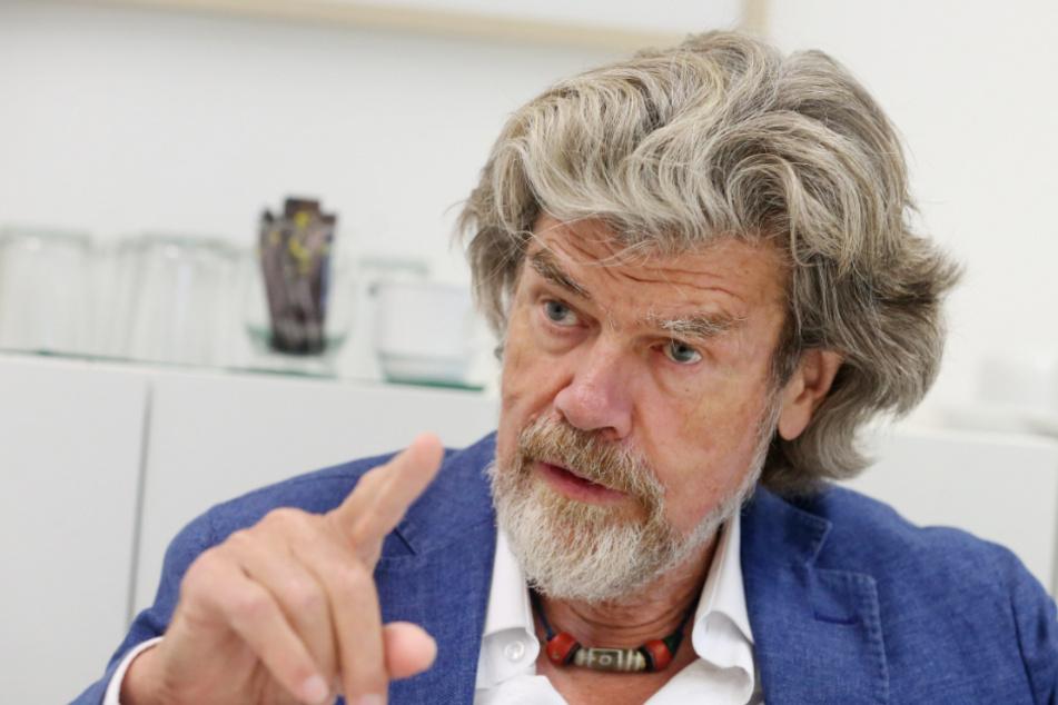 Reinhold Messner veränderte mit seinem Everest Solo das Bergsteigen für immer.